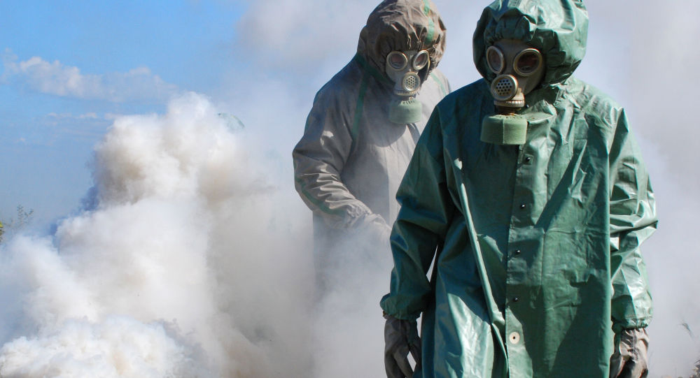 Ćwiczenia w zakresie ochrony przed skażeniem chemicznym i jądrowym