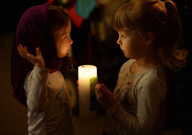Świętowanie katolickiej Wielkanocy w Rosji