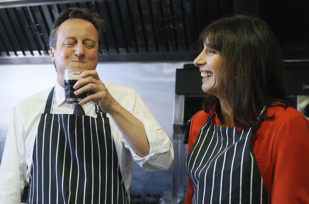 Premier Wielkij Brytanii David Cameron