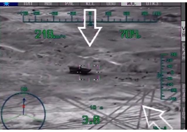 """""""Nocny łowca"""" vs pojazd opancerzony Daesh"""