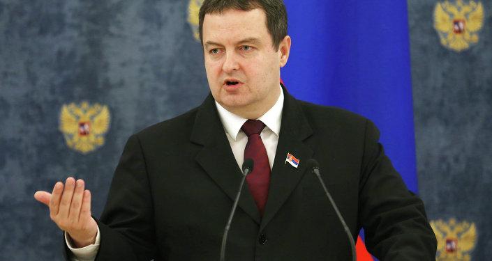 Serbski minister spraw zagranicznych Ivica Dačić