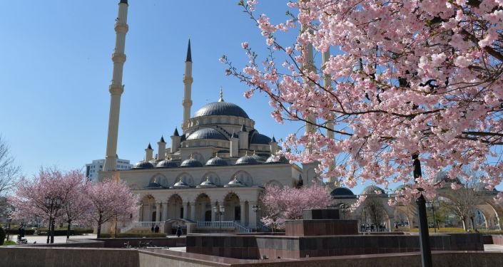 Czeczenia. Grozny. Meczet Serce Czeczeni imienia Achmata Kadyrowa