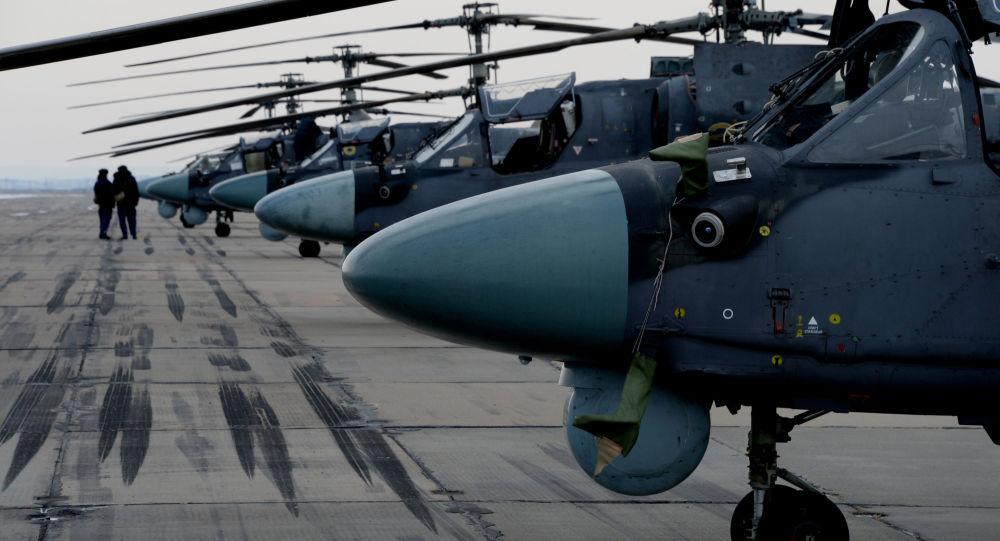 Śmigłowce Ka-52 Alligator