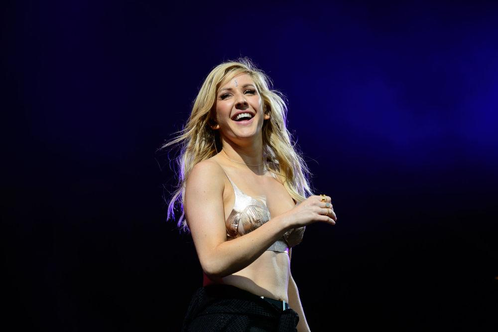 Brytyjska śpiewaczka Ellie Goulding