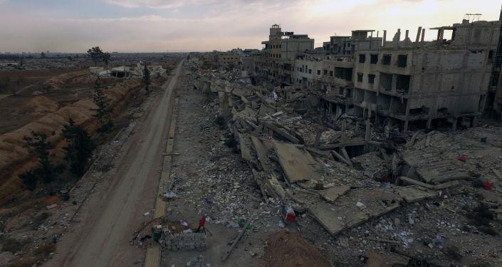 Przedmieścia Damaszek - Darajja