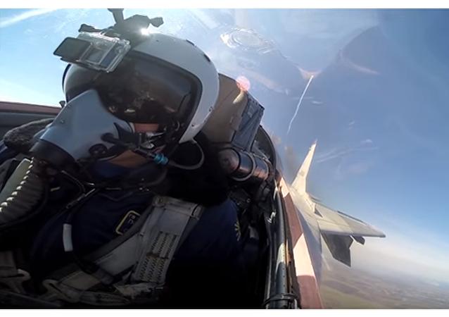 """Wojna"" z kokpitu MiG-29"