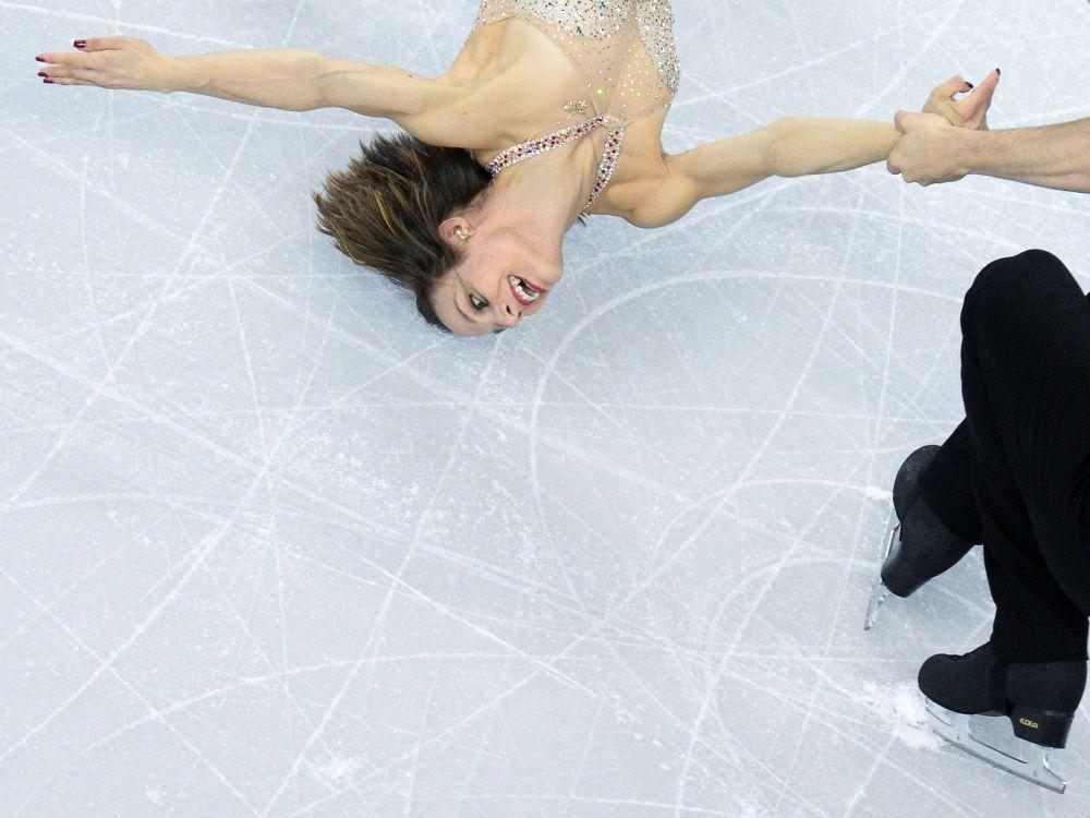 Łyżwiarze figurowi Meagan Duhamel i Eric Radford