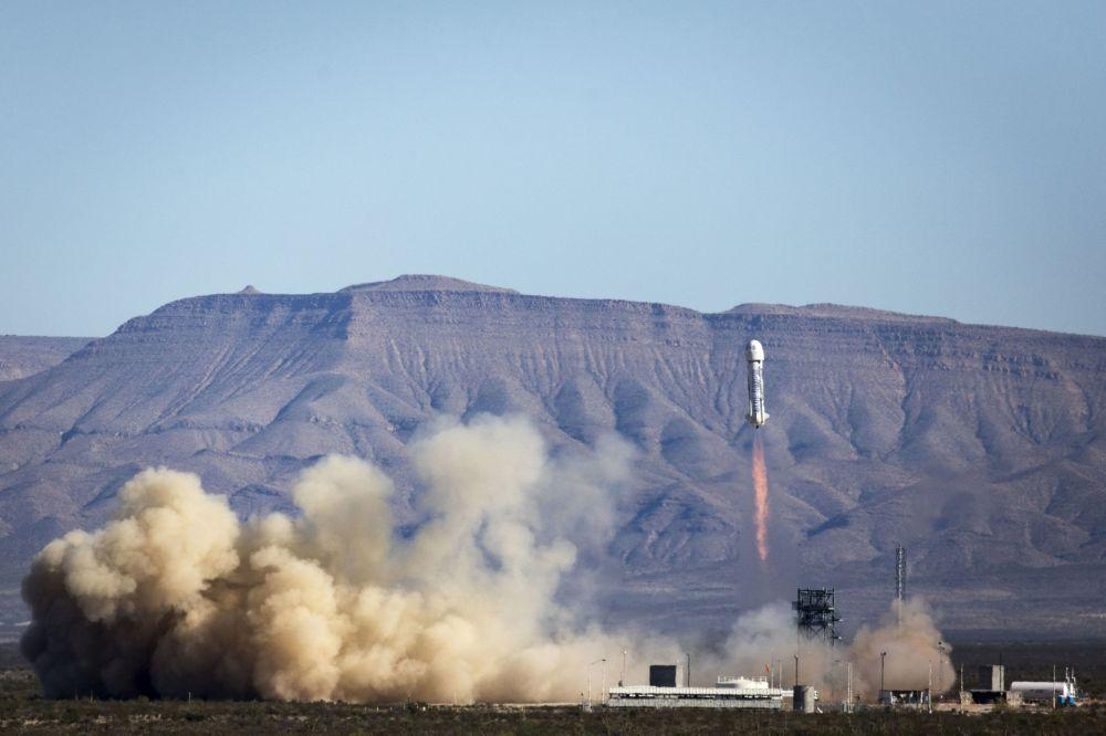 Lądowanie rakiety New Shepard
