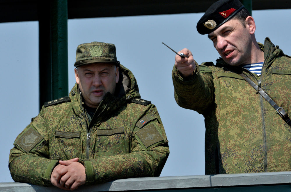 Dowódca wojsk Wschodniego Okręgu Wojskowego Sergiej Surowikin