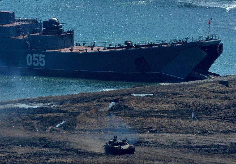 Wielki okręt desantowy Nikołaj Wiłkow