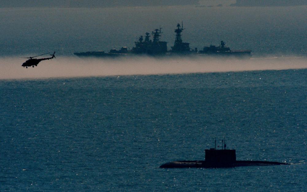 Ćwiczenia piechoty morskiej w Kraju Nadmorskim