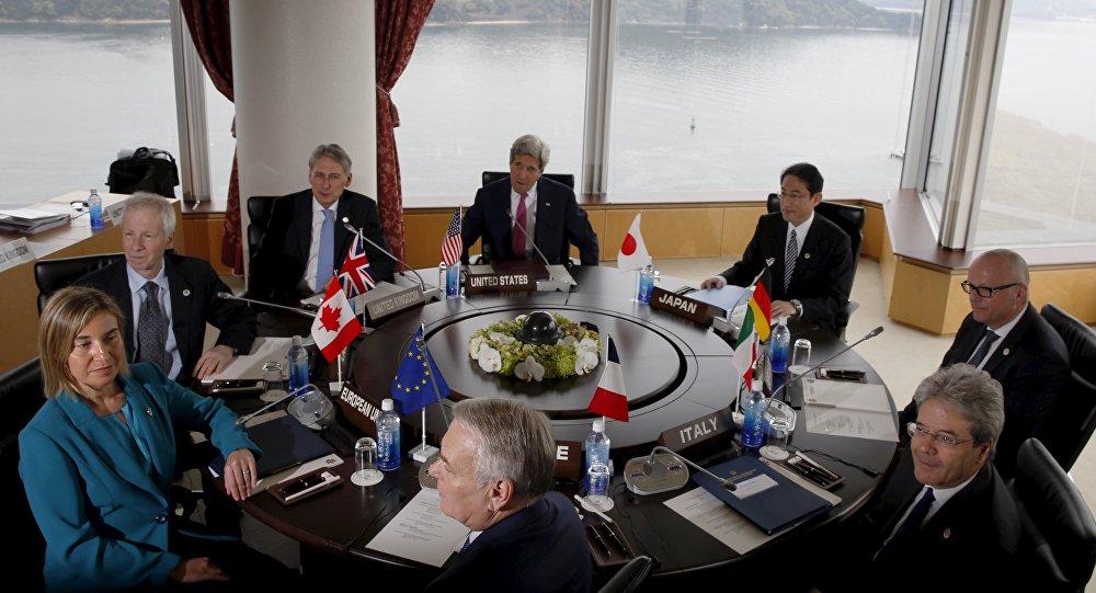 Spotkanie ministrów spraw zagranicznych państw G7 w Hiroszimie