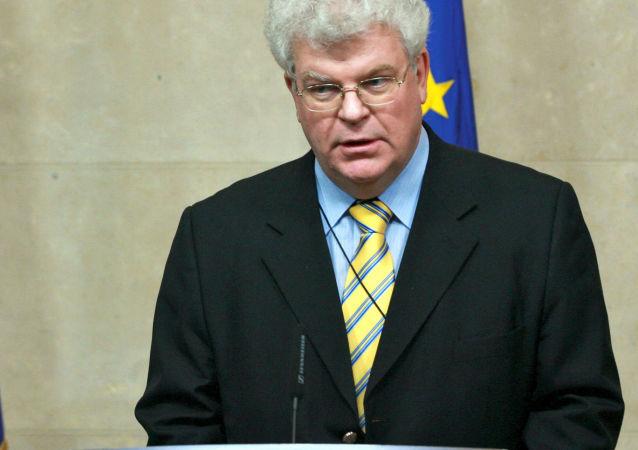 Stały przedstawiciel Rosji przy UE Władimir Czyżow