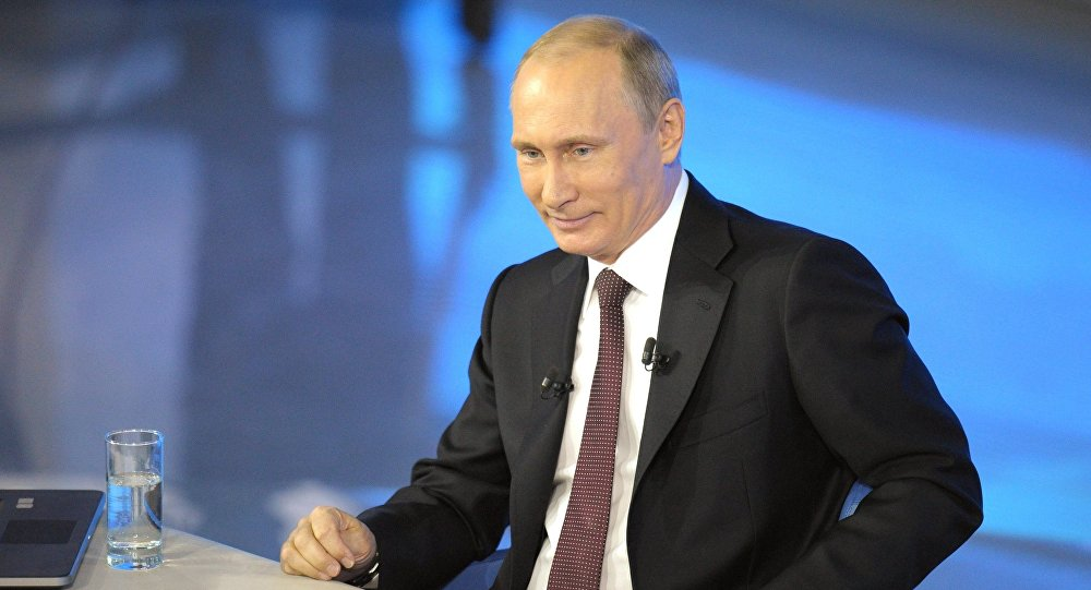 Gorąca linia z Władimirem Putinem, 17 kwietnia 2014
