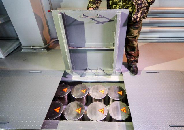 Kontenery dla przechowywania odpadów radioaktywnych