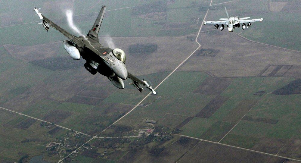 Patrolowanie przez NATO przestrzeni powietrznej nad rejonem bałtyckim