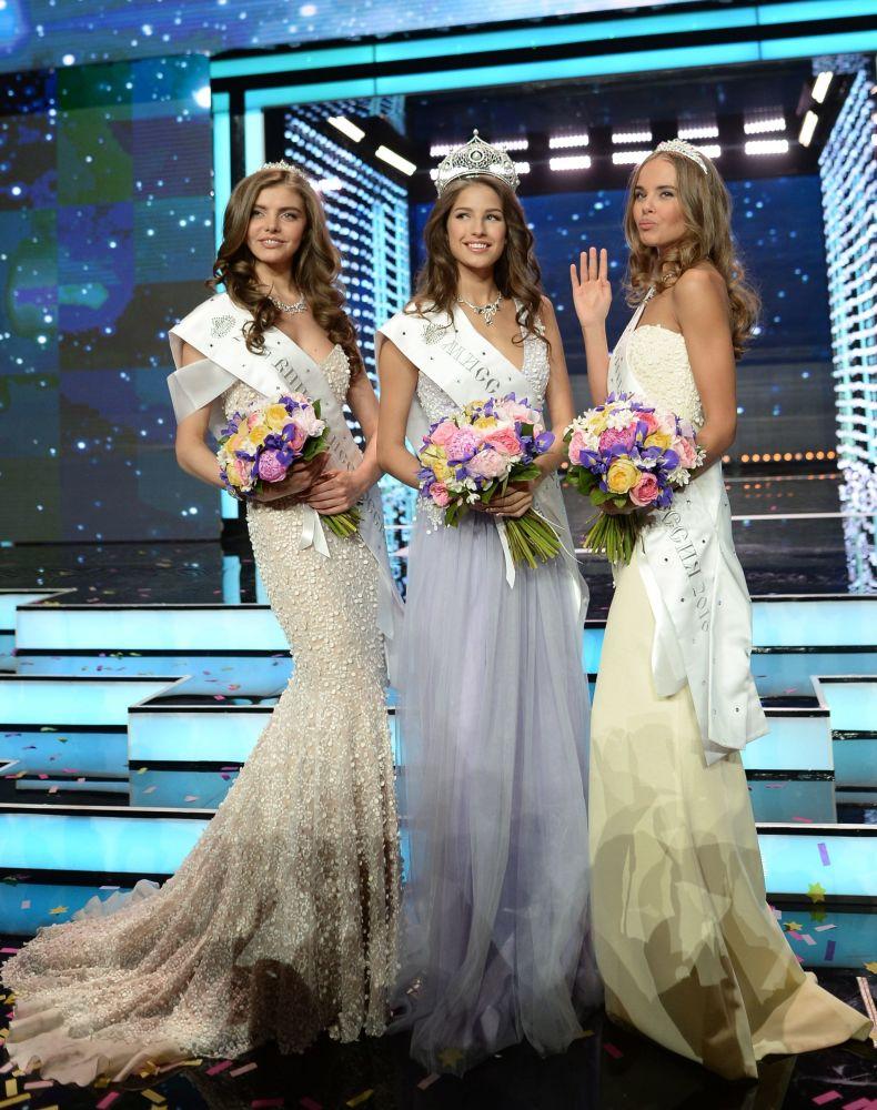 Uczestniczki konkursu Miss Rosji 2016