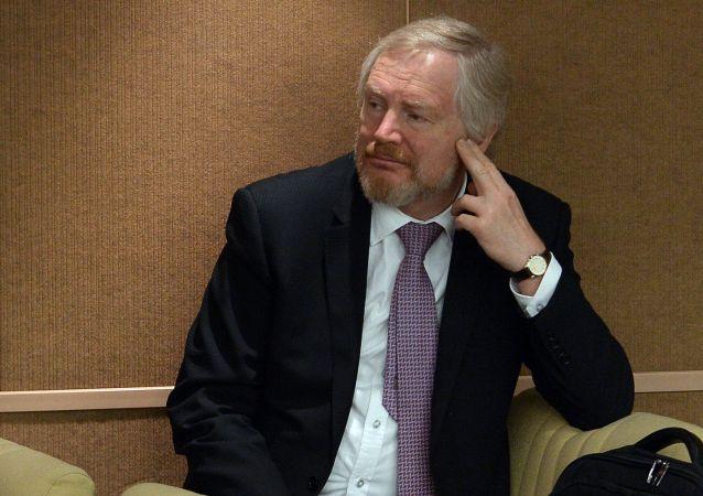Wiceminister finansów Rosji Siergiej Storczak