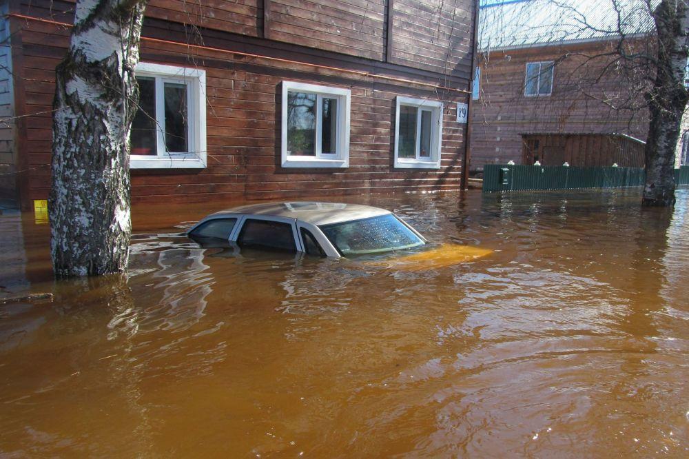 Powódź w Wołogdzie