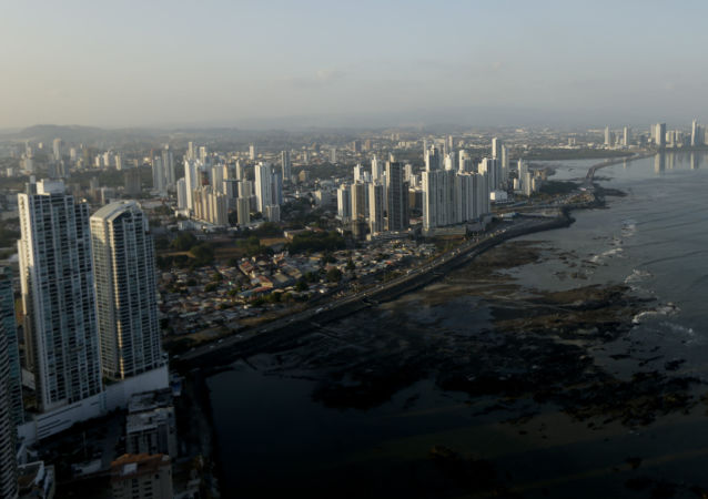 Widok na Panamę