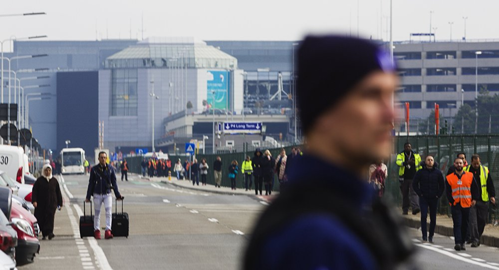 Lotnisko w Brukseli po zamachach