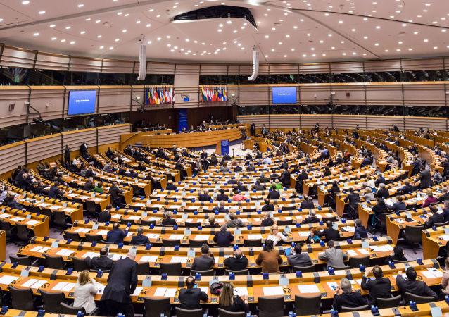 Posiedzenie Parlamentu Europejskiego w Brukseli