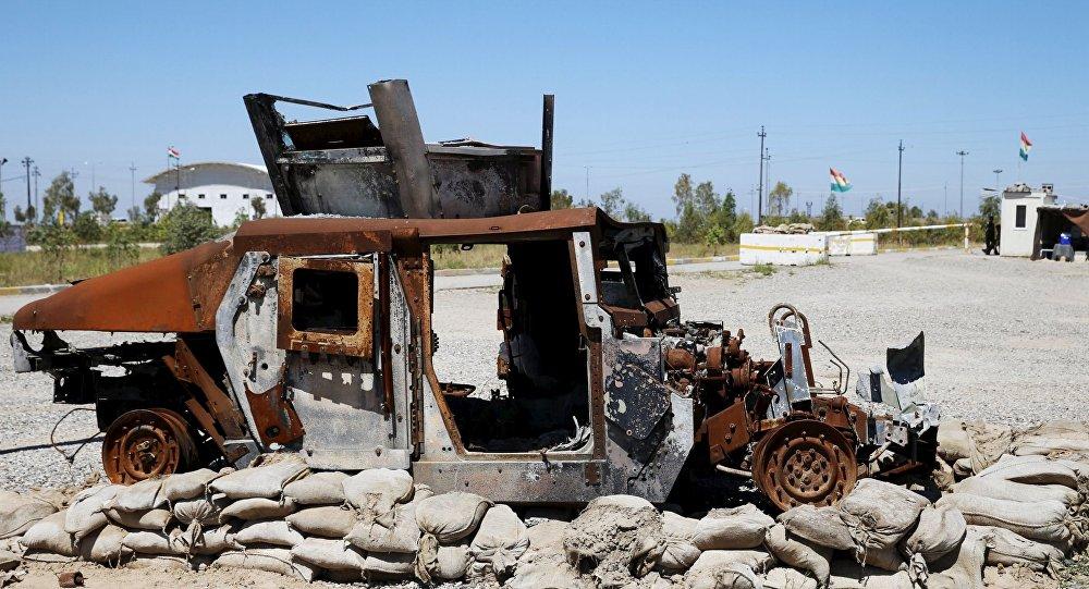 Baza kurdyjskich powstańców na północy Iraku