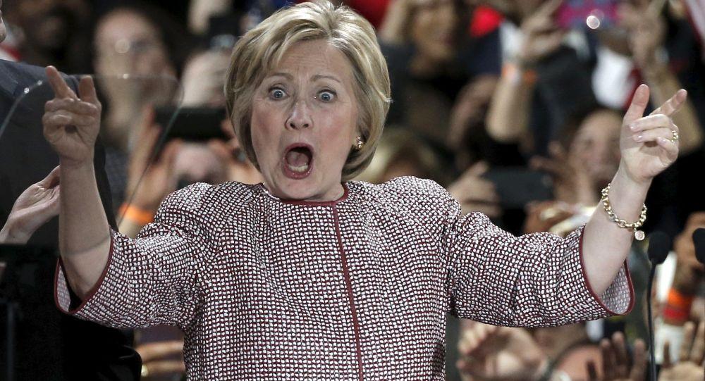 Kandydatka na prezydenta USA Hillary Clinton