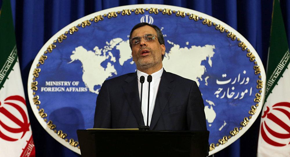 Rzecznik irańskiego MSZ Hossein Jaberi Ansari