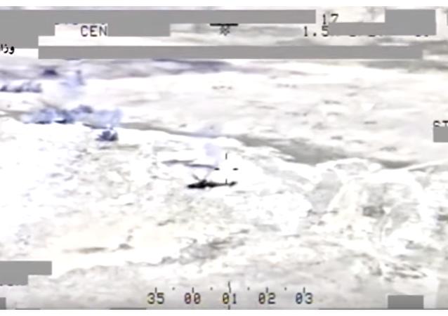 Mi-35: polowanie na terrorystów Daesh