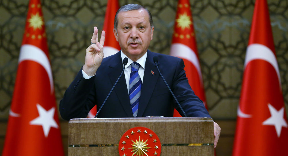 Prezydent Turcji Reccep Erdogan