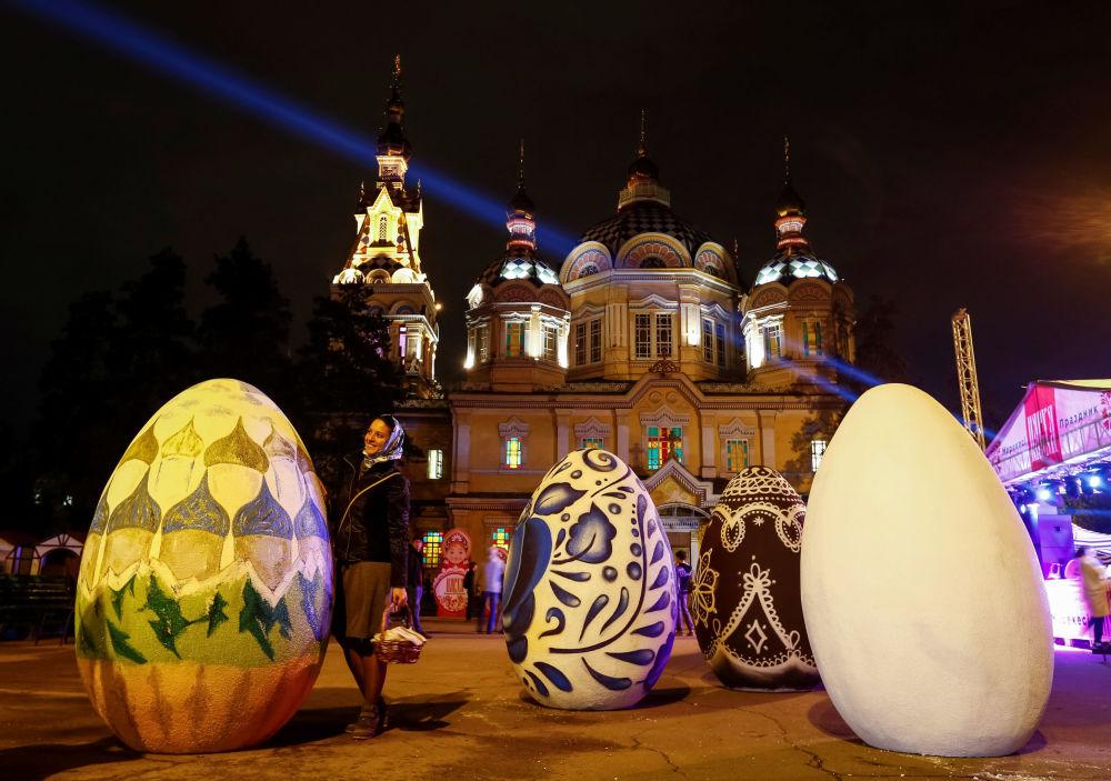 Obchody Wielkanocy w Kazachstanie