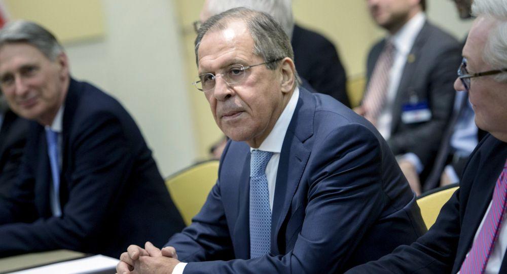 Rosyjski minister spraw zagranicznych Siergiej Ławrow