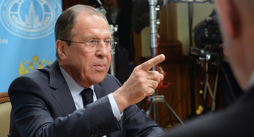 Wywiad szefa MSZ Rosji Siergieja Ławrowa dla stacji radiowej Sputnik, Echo Moskwy i Mówi Moskwa.