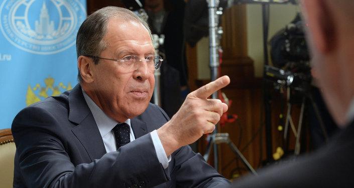 Wywiad szefa MSZ Rosji Siergieja Ławrowa dla stacji radiowych Sputnik, Echo Moskwy i Mówi Moskwa