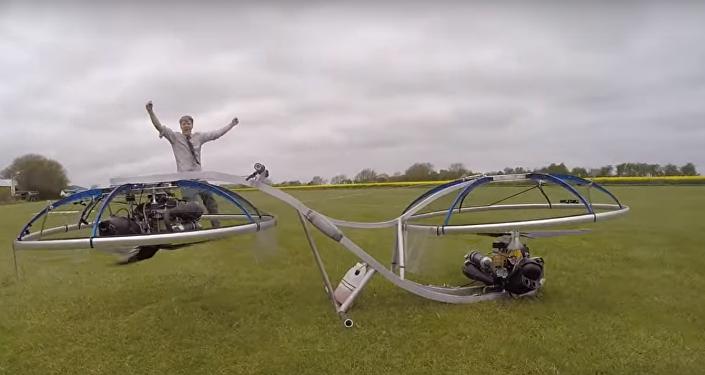 Wynalazca z Wielkiej Brytanii zbudował latający motor
