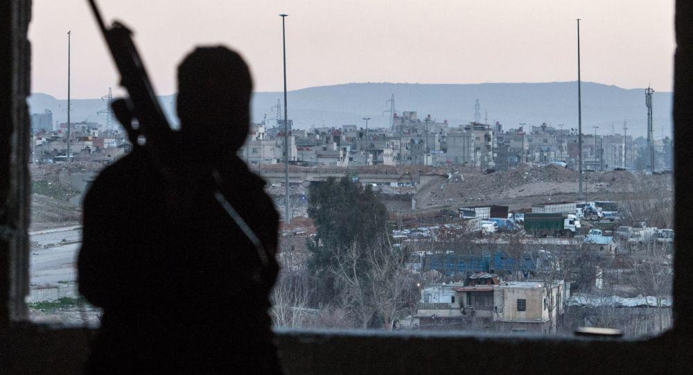 Dżobar pod Damaszkiem kontrolowany przez organizację terrorystyczną Dżabhat an-Nusra