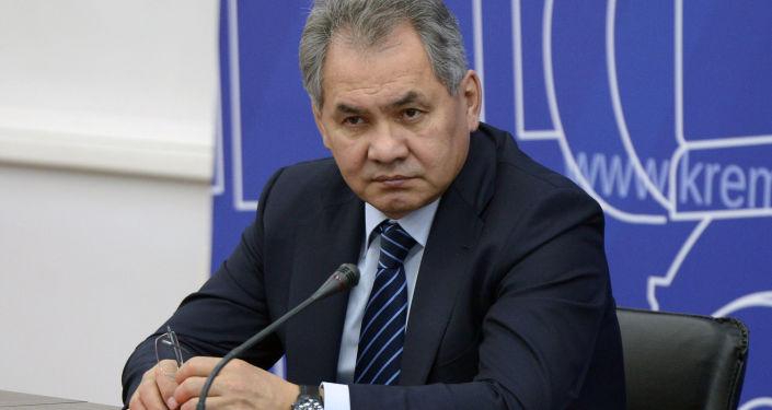 Minister obrony Rosji Sergiej Szojgu