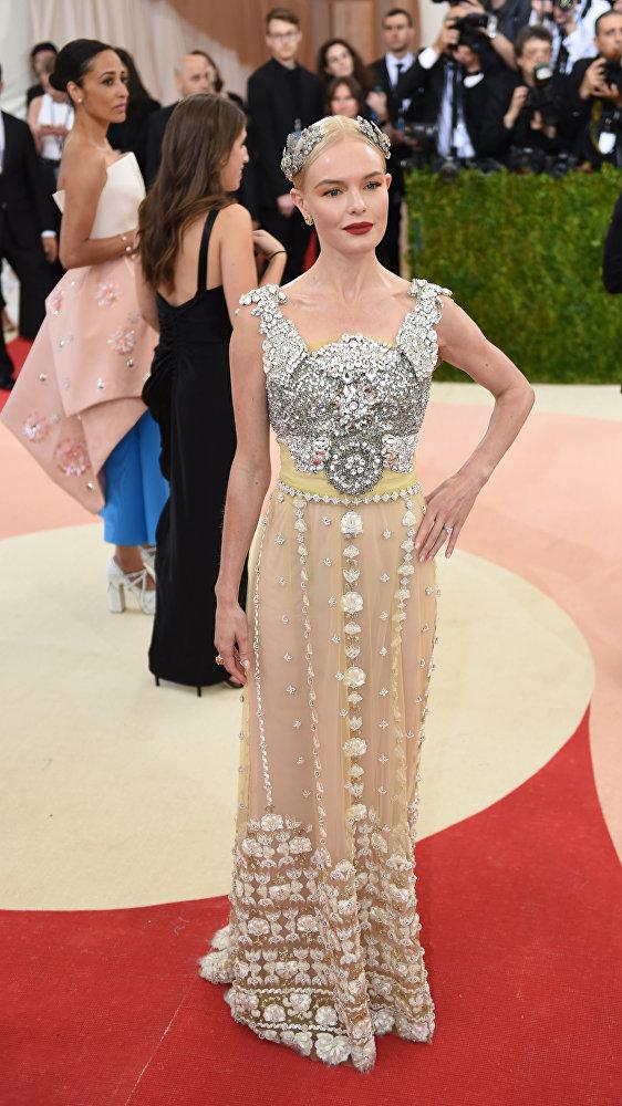 Kate Bosworth na Met Gala, Nowy Jork, 2 maja 2016