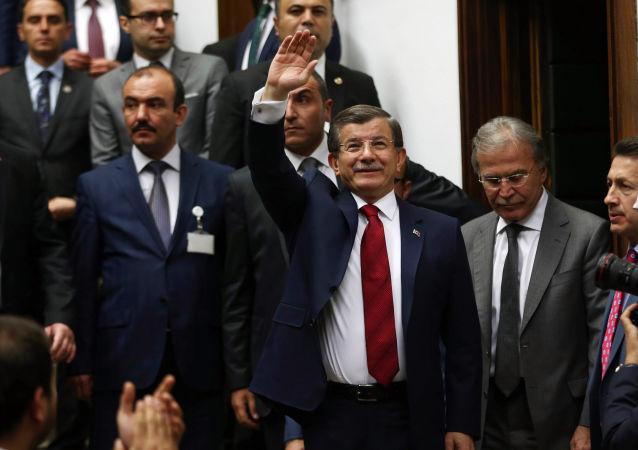Premier Turcji Ahmet Davutoglu