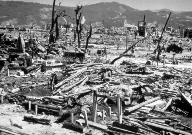 Hiroszima po zrzuceniu bomby atomowej
