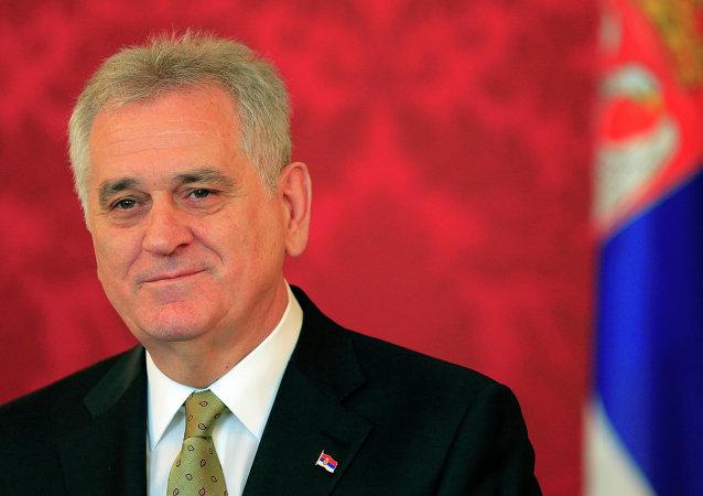 Serbski prezydent Tomislav Nikolic