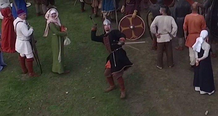 Wikingowie strącali drony włóczniami