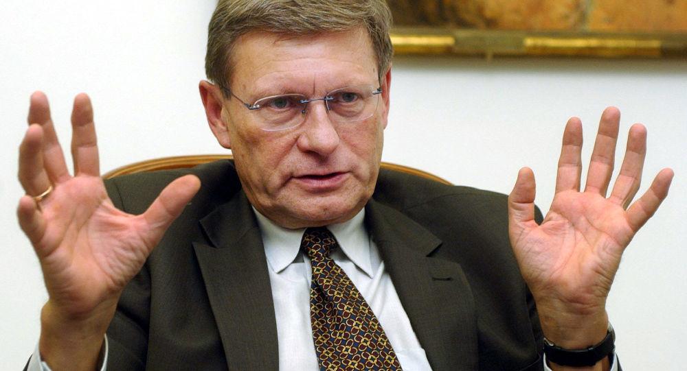 Polski ekonomista i polityk Leszek Balcerowicz