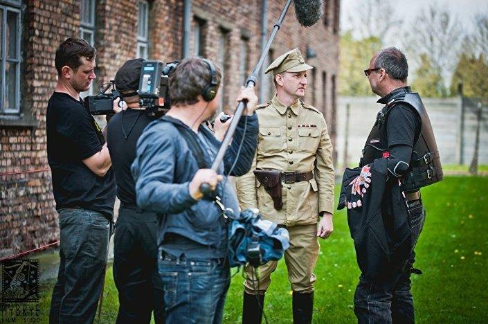 Studio filmowe Hybrys nagrywa wywiad z Nocnymi Wilkami