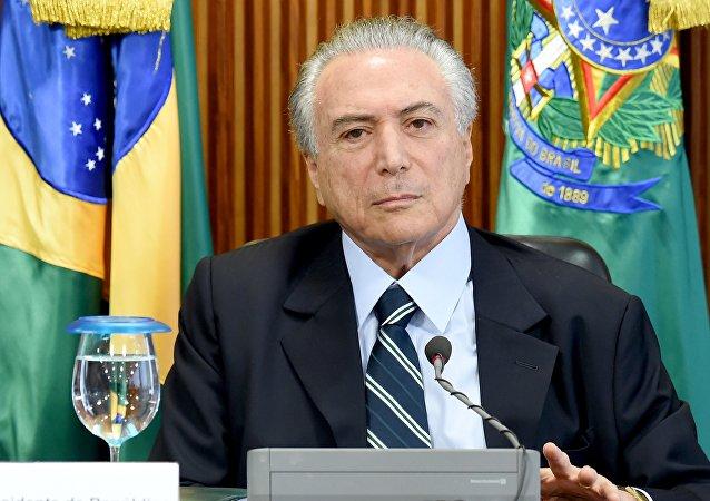 Michel Temer, brazylijski prezydent ad interim