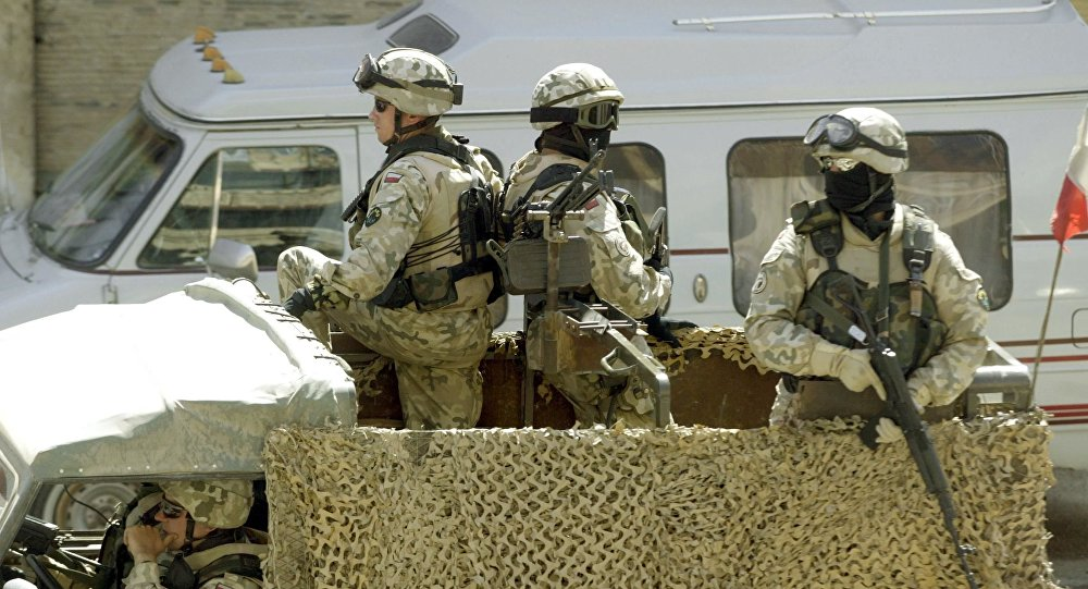 Polscy żołnierze w Iraku