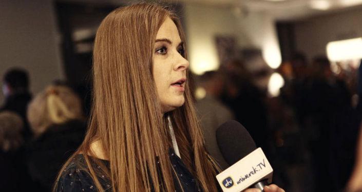 Dyrektor festiwalu filmów rosyjskich Sputnik nad Polską i Wisła w Rosji Małgorzata Skulska
