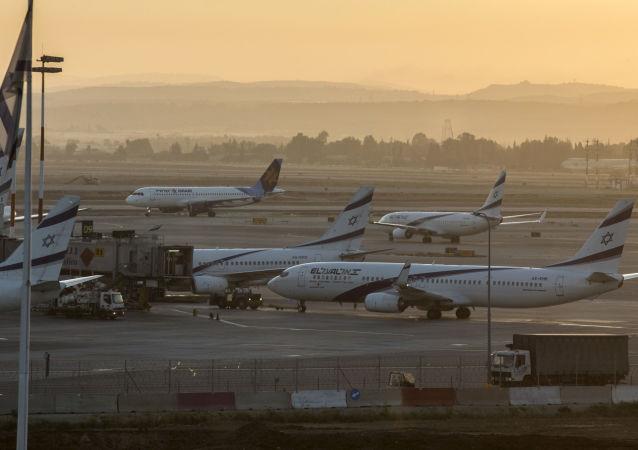Lotnisko w Tel Awiwie