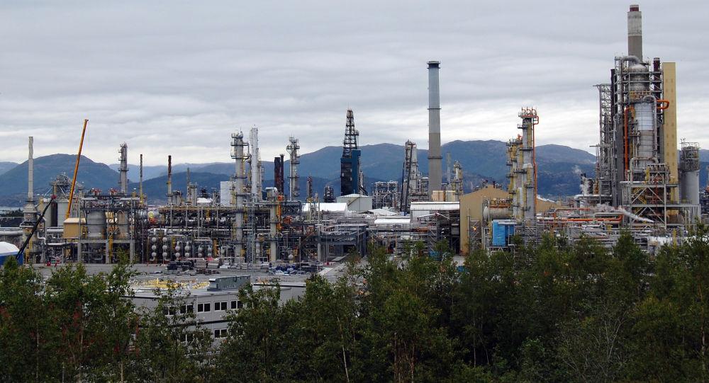 Rafineria ropy naftowej w Norwegii